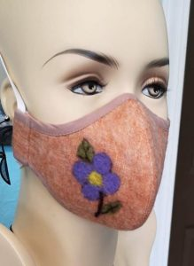 Mask with pictures