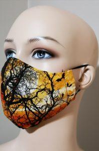 3 Layers cotton mask