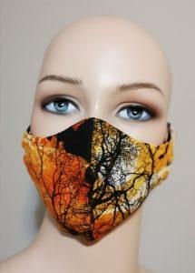3 layers 100% cotton mask