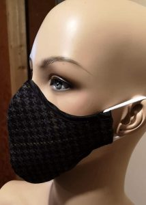 3 Layers wool Mask