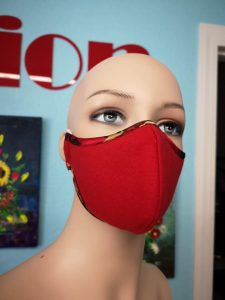 Mix fabric Mask